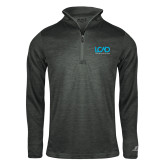 Russell Charcoal Heather 1/4 Zip-Full Mark