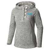 Columbia Ladies Darling Days Sea Salt Pullover-Primary Mark