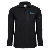 Columbia Ascender Softshell Black Jacket-Full Mark