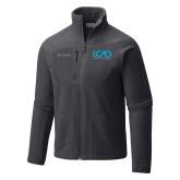 Columbia Full Zip Charcoal Fleece Jacket-Full Mark