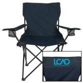Deluxe Navy Captains Chair-Full Mark
