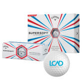 Callaway Supersoft Golf Balls 12/pkg-Full Mark