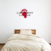2 ft x 2 ft Fan WallSkinz-Lake Forest College w/ Paw