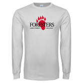 White Long Sleeve T Shirt-Foresters