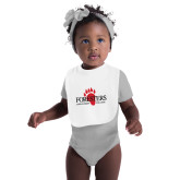 White Baby Bib-Foresters