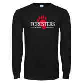 Black Long Sleeve T Shirt-Foresters