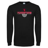 Black Long Sleeve T Shirt-Lake Forest Basketball