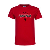 Youth Red T Shirt-Swimming and Diving Circle