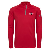 Under Armour Red Tech 1/4 Zip Performance Shirt-Foresters
