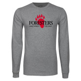 Grey Long Sleeve T Shirt-Foresters