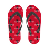 Ladies Full Color Flip Flops-Foresters