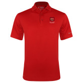 Columbia Red Omni Wick Drive Polo-Primary Mark