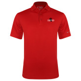 Columbia Red Omni Wick Drive Polo-Foresters