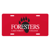 License Plate-Foresters