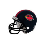 Riddell Replica Black Mini Helmet-Cardinal Head
