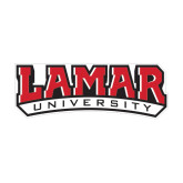 Medium Decal-Lamar University, 8 in W