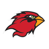 Large Decal-Cardinal Head, 12 in W
