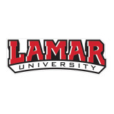 Large Decal-Lamar University, 12 in W