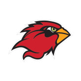 Small Decal-Cardinal Head, 6 in W