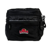All Sport Black Cooler-Lamar University w/Cardinal Head
