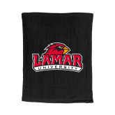 Black Rally Towel-Primary Mark
