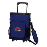 30 Can Royal Rolling Cooler Bag-Lamar University w/Cardinal Head
