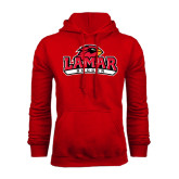 Champion Red Fleece Hood-Soccer