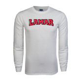 White Long Sleeve T Shirt-Lamar
