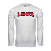 Syntrel Performance White Longsleeve Shirt-Lamar