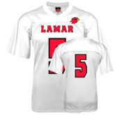 Replica White Adult Football Jersey-#5