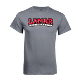 Charcoal T Shirt-Lamar University
