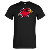 Black T Shirt-Cardinal Head