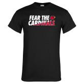 Black T Shirt-Fear The Cardinals