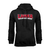 Champion Black Fleece Hood-Lamar University