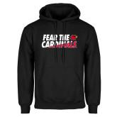 Black Fleece Hoodie-Fear The Cardinals