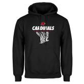 Black Fleece Hood-Basketball Net Design
