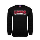 Champion Black Fleece Crew-Lamar University