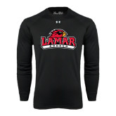 Under Armour Black Long Sleeve Tech Tee-Soccer