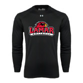 Under Armour Black Long Sleeve Tech Tee-Softball