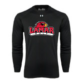 Under Armour Black Long Sleeve Tech Tee-Golf