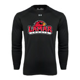 Under Armour Black Long Sleeve Tech Tee-Tennis