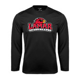 Syntrel Performance Black Longsleeve Shirt-Volleyball