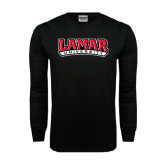 Black Long Sleeve TShirt-Lamar University