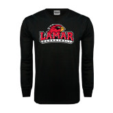 Black Long Sleeve TShirt-Basketball