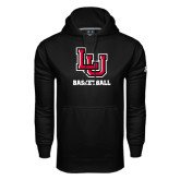 Under Armour Black Performance Sweats Team Hoodie-Basketball