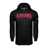 Under Armour Black Performance Sweats Team Hood-Lamar