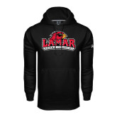 Under Armour Black Performance Sweats Team Hood-Cross Country