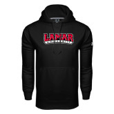 Under Armour Black Performance Sweats Team Hoodie-Wordmark