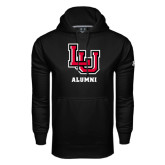 Under Armour Black Performance Sweats Team Hoodie-Alumni