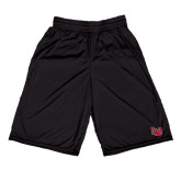 Midcourt Performance Black 11 Inch Game Short-LU